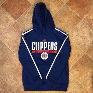 Boys Adidas LA Clippers Hoodie